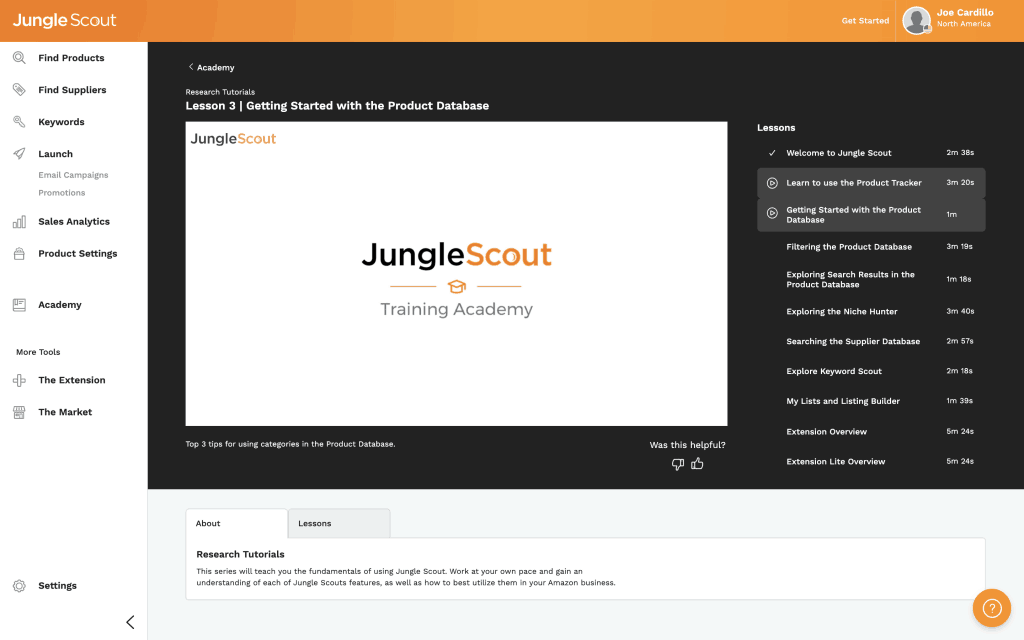 Jungle Scout Academy