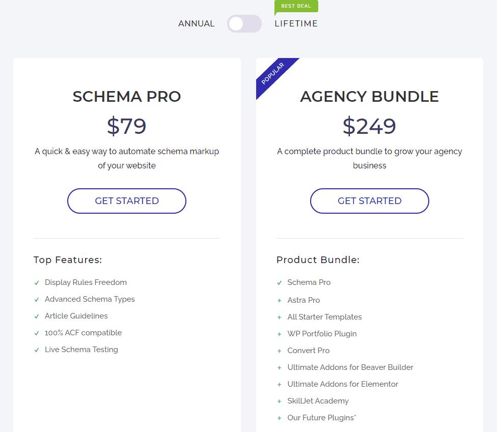 Schema Pro Pricing
