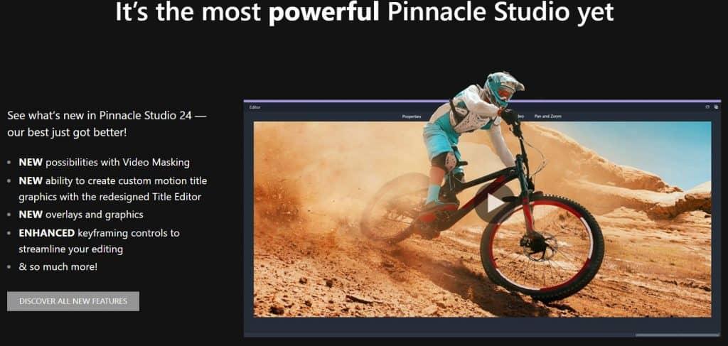 Pinnacle Studio Features
