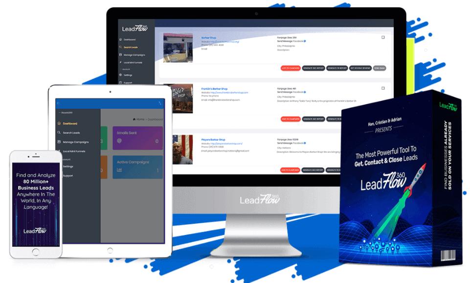 leadflow360 review - featuers