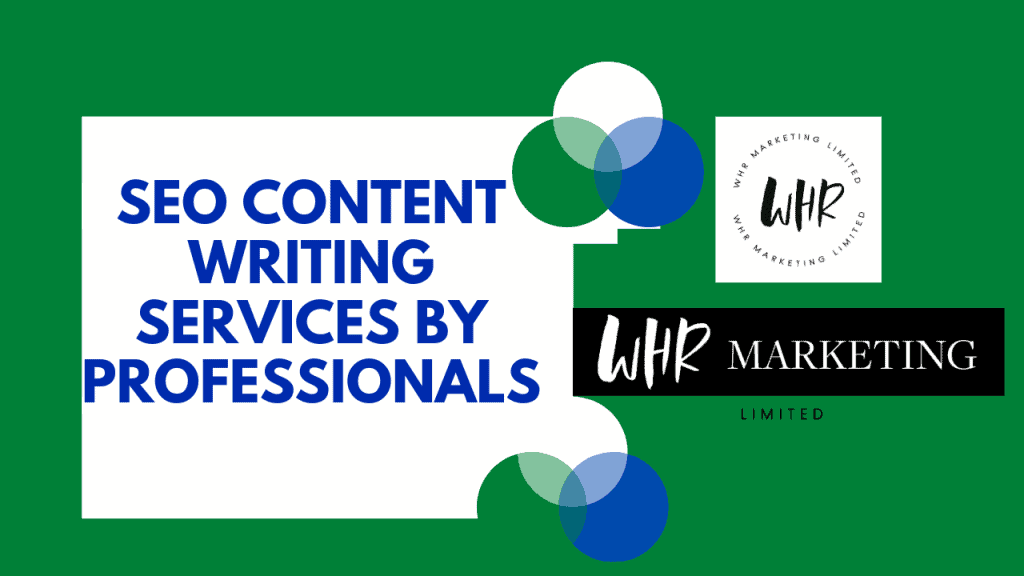 SEO content writing: Services by professionals