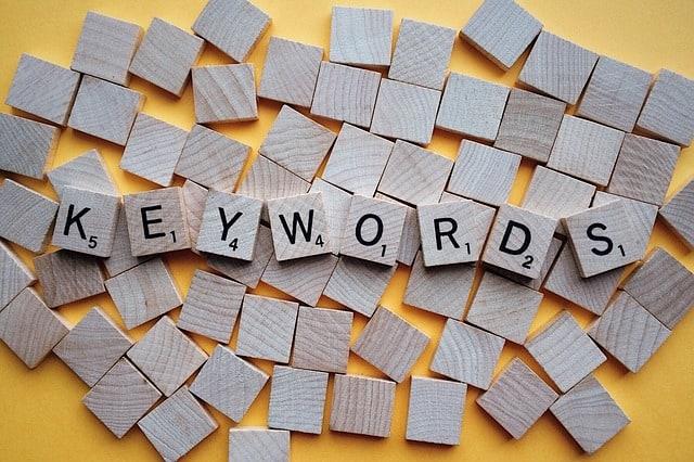 keywords SEO