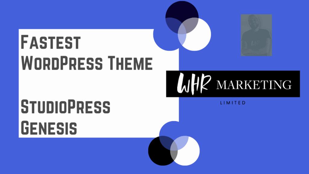 Fastest WordPress Theme - StudioPress