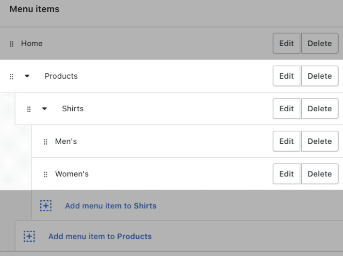 HOW TO ADD COLLECTIONS ON SHOPIFY - Drop Down